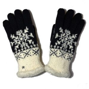 Isotoner Plush Lined Knit Winter Gloves